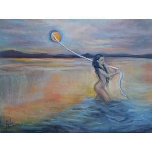 Sylwia Radziemska-Kądziela, Sensual sunset, 2019