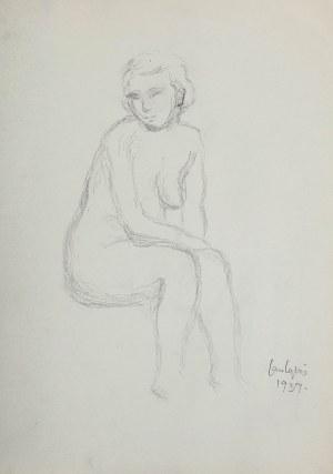 Jan Cybis (1897 Wróblin - 1972 Warszawa), Akt, 1939