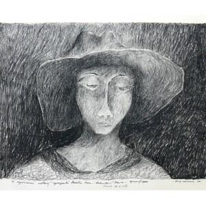 Ryszard Zając (1929-2016), Głowa wieśniaczki, 1976