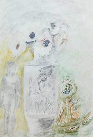 Maja Berezowska (1893 lub 1898 Baranowicze-1978 Warszawa), Kompozycja, 1972