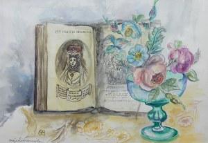 Maja Berezowska (1893 lub 1898 Baranowicze-1978 Warszawa), Martwa natura z kwiatami