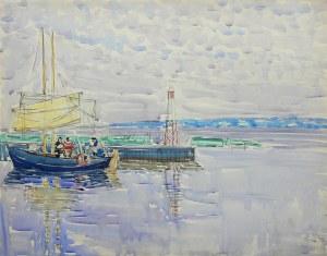 Władysław Brzosko (1912 Czyta/Syberia-2011 Arizona), U przystani