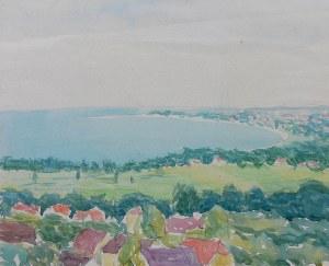 Władysław Brzosko (1912 Czyta/Syberia-2011 Arizona), Zatoka Gdańska, 1948
