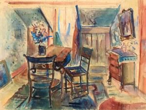 Pinchus Krémegne (1890 Zaloudock-1981 Céret), We wnętrzu
