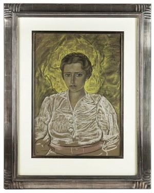 Stanisław Ignacy Witkiewicz (1885 Warszawa - 1939 Jeziory na Polesiu), Portret kobiety, 1938