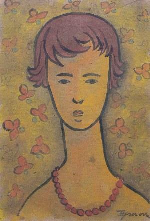 Tymon Niesiołowski (1882 Lwów-1965 Toruń), Portret Dorotki