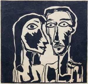Ryszard Stryjec (1932 Lipniszki k. Lidy-1997 Gdańsk), Portret podwójny