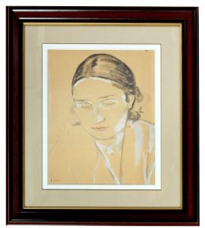 Leopold Gottlieb (1879-1934), Portret kobiety