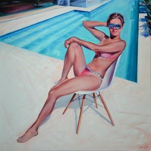 Rafał Knop, Madame Ev-14 z cyklu Swimming Pool, 2020