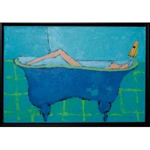 Małgorzata Stępniak, Błękitna kąpiel, 2003