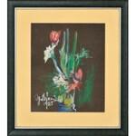 Ignacy Bieniek (1925-1993), Bukiet kwiatów, 1985