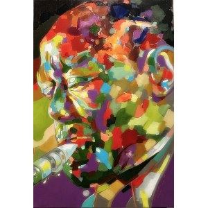 "Monika Łakomska, ""Charlie Parker Abstract"""