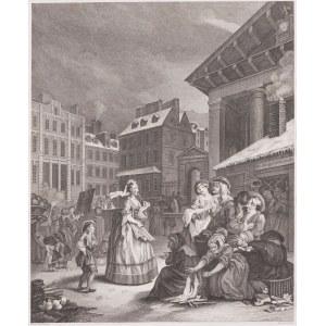 William Hogarth (1697 - 1764), Thomas Cook (ok. 1744-1818), Ranek, 1797
