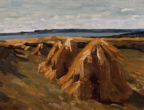Felicjan Szczęsny KOWARSKI, MENDLE NA POLU, ok. 1920