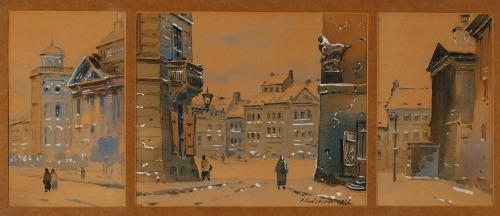 RODZEWICZ, TRYPTYK WARSZAWSKI, 1932