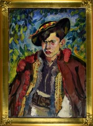 Fryderyk Pautsch (1877-1950), Młody Hucuł, 1930