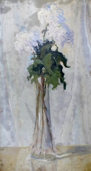 Ignacy Pinkas (1888-1935), Kwiaty w wazonie, 1917