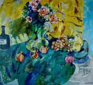 Juliusz Joniak (Ur. 1925), Martwa natura z różami, 1998