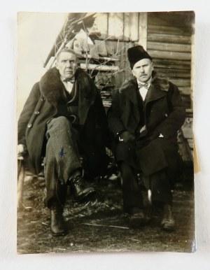 Stanisław Kamocki (1875-1944), Zdjęcie artysty z bratem Józefem