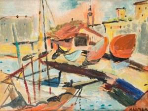 Ludwik Klimek (1912 Skoczów - 1992 Nicea), Port w Nicei