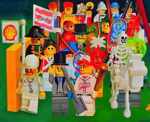 Zbigniew Gorlak, Armia Cesarza Le, obraz z cyklu BIO ARMY LEGO, 2012