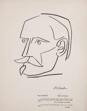 Pablo Picasso (1881-1973), Portret Paula Langevine'a, przed 1938