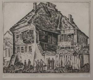 Leon Kosmulski (1904-1952), Dom w Kazimierzu Dolnym, 1936