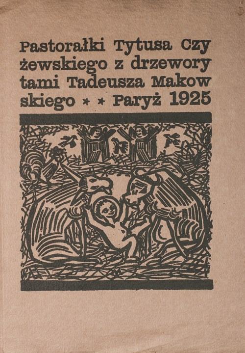 Tytus Czyżewski (1880-1945), Pastorałki, 1925
