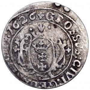 Zygmunt III Waza, grosz 1626, Gdańsk