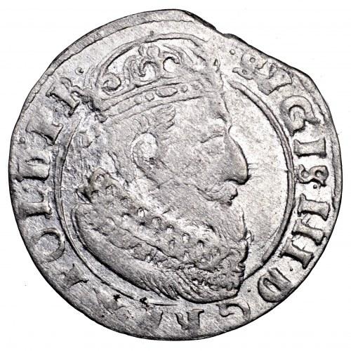 Zygmunt III Waza, grosz 1625, Gdańsk - piękny