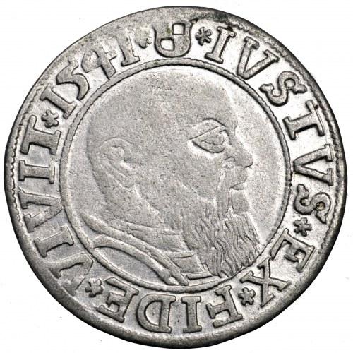 Prusy Książęce, Albrecht Hohenzollern, grosz 1541, Królewiec