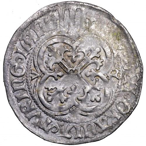 Niemcy, Fryderyk II i Wilhelm III, grosz miśnieński, 1442-1445