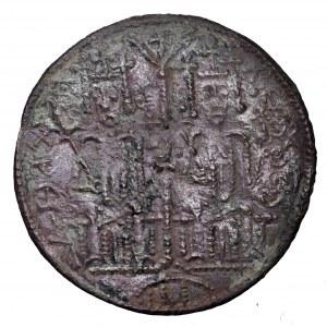 Węgry, Bela III, pieniądz miedziany (denar) 1172-1196