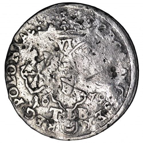 Jan III Sobieski, szóstak 1679 - duże TLB, rzadki