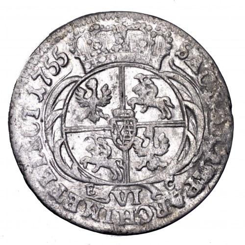 August III Sas, szóstak 1755 EC, Lipsk