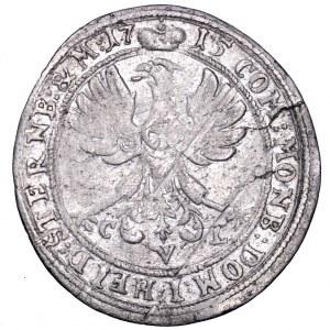 Śląsk, Ks. oleśnickie, Karol Fryderyk, 6 krajcarów 1715 - rzadkość