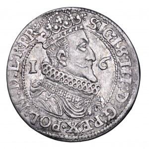 Zygmunt III Waza, ort 1624, Gdańsk - data przebita z 1623