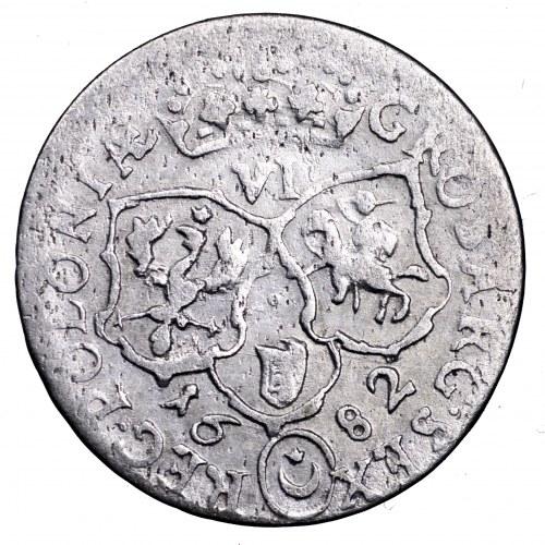 Jan III Sobieski, szóstak 1682 TLB, Bydgoszcz