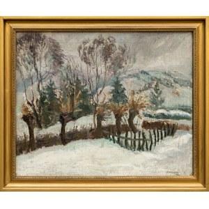 Matuszczak Edward, Pejzaż zimowy, 1931