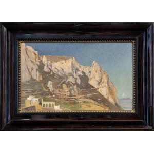 Rettich Karl, Pejzaż z Capri, 1885
