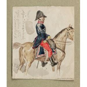 Sypniewski Feliks , Oficer wyższy, adiutant dowódcy pułku szwoleżerów Księstwa Warszawskiego