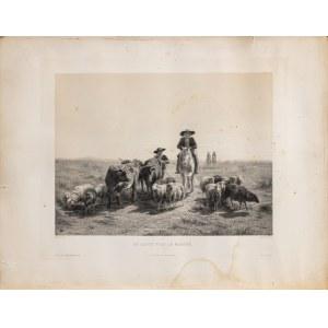 Bonheur Marie-Rosalie, Droga na jarmark, 1856