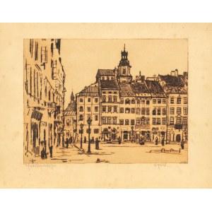 Jabłczyński Feliks , Stary Rynek w Warszawie