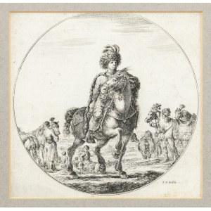 Della Bella Stefano, Jeździec Węgierski, 1648/6150