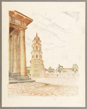 Pinkas Ignacy, Wilno. Plac Katedralny, 1929