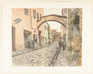 Pinkas Ignacy, Wilno. Uliczka z ghetta, 1929