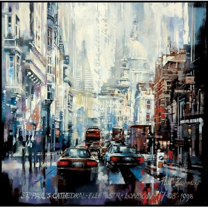 Piotr Zawadzki (ur. 1971), Metropolis: St. Paul's Cathedral, London, 2020