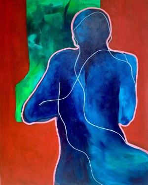 Irma Tylor (ur. 1991), Blue Thinker VI, 2020