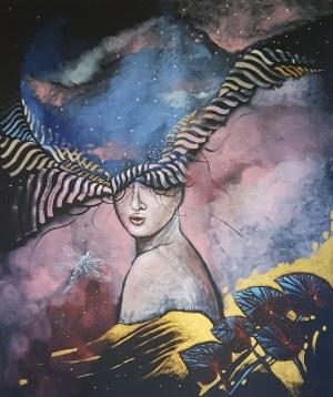 Żaneta Chłostowska-Szwaczka (ur. 1983), Poza przestrzeń apeironu, 2020