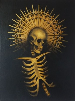 Marta Achtabowska (ur. 1983), Muerta (inspirowana twórczością Bila Elisa), 2020